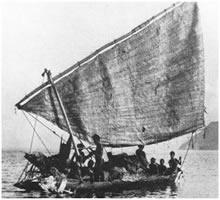 Canoa trobriandesa